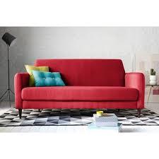 canapé 2 places tissu style ées 50 adelin maison