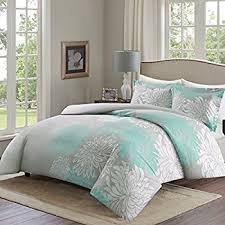 amazon com chic home ibiza 3 piece duvet cover set super soft