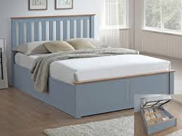 Grey Ottoman Bed 4ft Small Double Ottoman Bed Frames Next Day