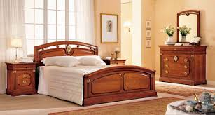 Wooden Bed Double Bed Traditional Wooden Piazza Navona Corazzin Group