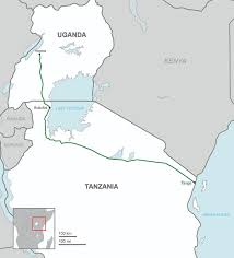 Map Of Uganda Uganda U2013tanzania Crude Oil Pipeline Wikipedia