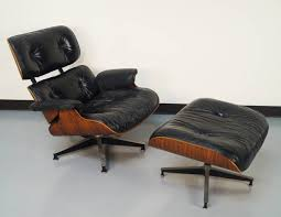 Eames Leather Lounge Chair Chair Herman Miller Eames Lounge Chair Replica Used Unique With