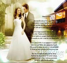 poeme sur le mariage poeme sur le mariage de et edward twilight miss love06