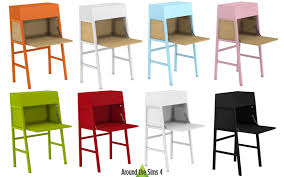 bureau ps around the sims 4 custom content objects ikea desks