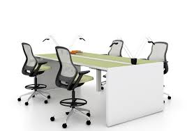 Standing Height Table by Antenna Workspaces Standing Height Table Arenson Office Furnishings