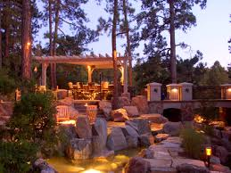 furniture charming outdoor landscape lighting ideas front yard