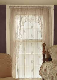 Heritage Lace Shower Curtains by Sheer Divine Lace Curtains From Heritage Lace