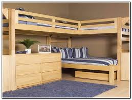 wood loft bed with desk solid wood bunk beds full over full loccie better homes gardens