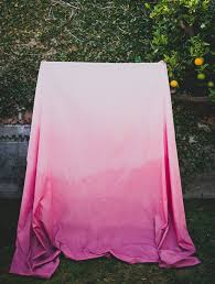 wedding table cloth diy ombre tablecloth