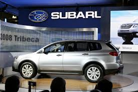 subaru tribeca 2011 subaru b9 tribeca steals the show at the nyias