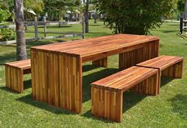 Wooden Tables And Benches Pergola Kits Pavilions U0026 Redwood Furniture Forever Redwood