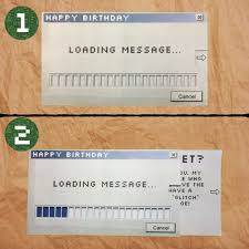 Birthday Card With Bars Loading Message Card 5 Steps With Pictures