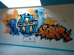 graffiti chambre chambre d enfant graffiti om la crémerie