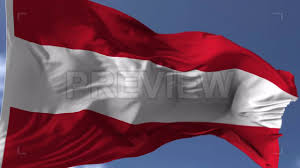 Austria Flag Realistic Austria Flag Blowing On The Wind Motion Graphics Youtube
