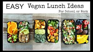 easy vegan lunch ideas bento box youtube
