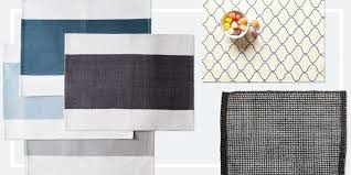 Dining Room Tablecloth 13 Best Placemats For Your Dinner Table 2017 Woven And Cloth