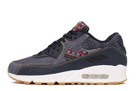 nike air max 90 premium dark obsidian city blue