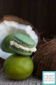 macaron lime coco lime coconut french macaron macarons