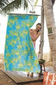 Outdoor Shower Curtains Stunning Decoration Outdoor Shower Curtain Excellent Design