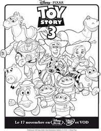 un joli coloriage de toy story 3 avec rex le dinosaure un dessin