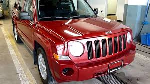 jeep patriot 2017 red 2010 jeep patriot 4x4 red youtube