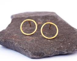 circle earrings circle earrings etsy
