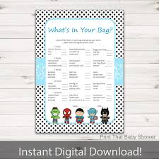 what s in the bag baby shower baby shower what s in your purse baby