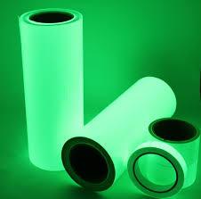 glow in the dark l premium luminous glow in the dark vinyl tape sheet reflective strips