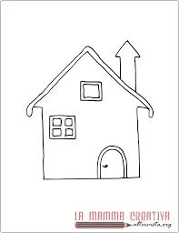 casa disegno disegni parole della lettera c lamammacreativa