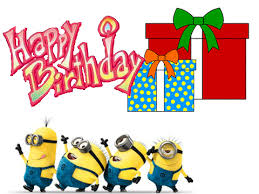 birthday card despicable me birthday card invitation print