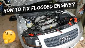 watercar gator how to fix flooded engine flooded spark plugs youtube