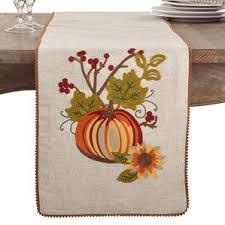 thanksgiving table runners you ll wayfair