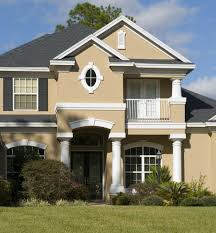 alluring house design with interesting exterior paint colors and