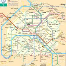 Notre Dame Campus Map Plan Der Pariser Metro Paris Metroplan Metronetz Map