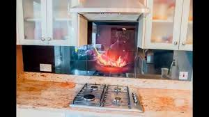 Splashback Ideas For Kitchens Glass Kitchen Splashbacks Collection Creoglass Youtube