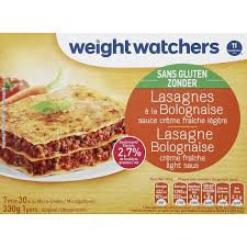 plat cuisiné weight watcher plat cuisiné lasagnes bolognaise s gluten weight watchers weight