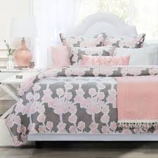 floral duvet cover the ashbury pink crane u0026 canopy