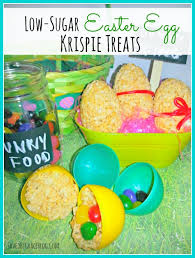 sugar easter eggs low sugar easter egg krispy treats saved by grace