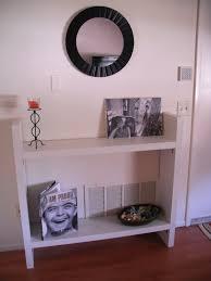 ikea entryway table 4 lack shelves into a entry way table ikea s hacks pinterest