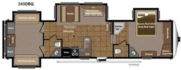 Cougar 5th Wheel Floor Plans Montana Fifth Wheel Floor Plans With Two Bathrooms Google Search