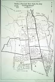 Troy New York Map by Historical Morris County New Jersey