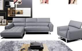 canap d angle cuir gris canapé d angle en cuir gris intérieur déco