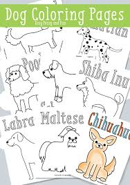 dog coloring pages free printable coloring pages coloring and