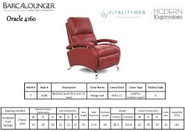 Black Leather Recliner Chair Barcalounger Oracle Ii Recliner Chair Leather Recliner Chair