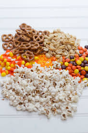 monster mash halloween party peanut butter halloween party mix