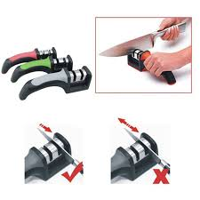 Sharpening Ceramic Kitchen Knives New Two Stages Ceramic Kitchen Knife Sharpeners Sharpening