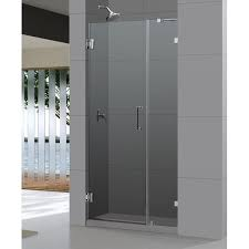 38 Shower Door Dreamline Frameless Shower Door 38 X 72 Radiance Hinged Glass