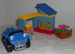 lego duplo bob builder 3597 lofty dizzy hard complete
