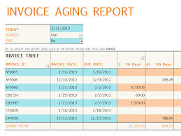 ar report template invoice aging report excel template track accounts receivable with