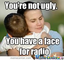 Radio Meme - face for radio by recyclebin meme center